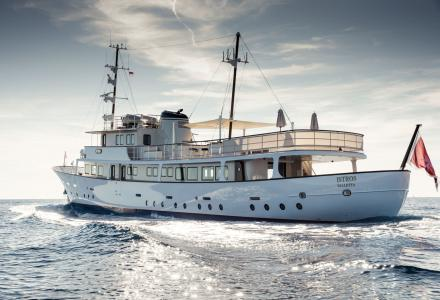 Yacht of the Day: Fantastic Rebuilt 42m Istros