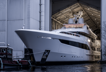 Feadship Has Launched the 55m Somnium