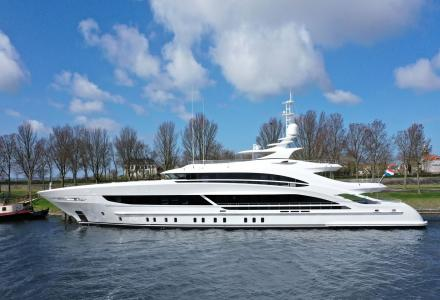 Heesen Has Delivered the 50m Arkadia