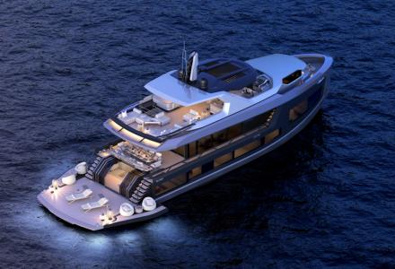 Turkish Mazy Yachts Enters Into Steel Semi-Displacement Construction With the 92 DS