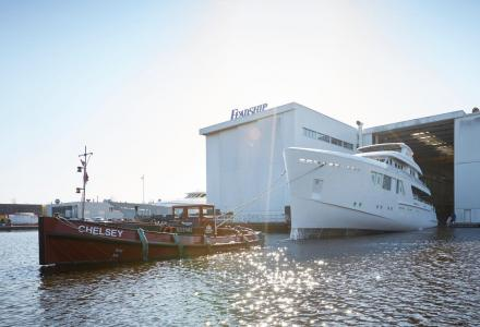Feadship Has Launched the Project 709