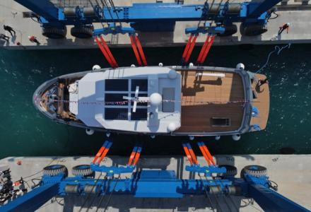 Bering Yachts Has Launched the 24m Explorer Veronika In Antalya