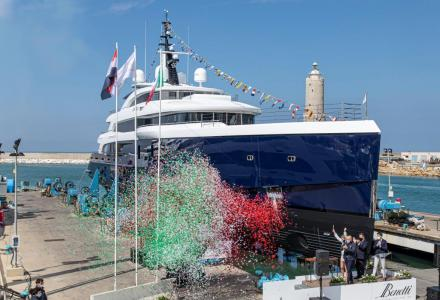 Benetti Has Launched The 65m Full Custom Yachts Zazou