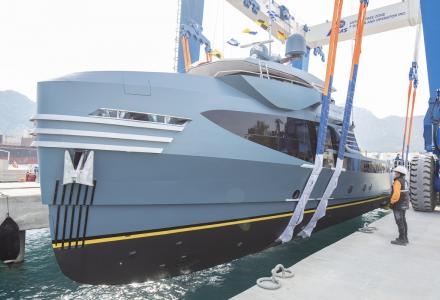 Alia Yachts Has Launched the New Support Ship