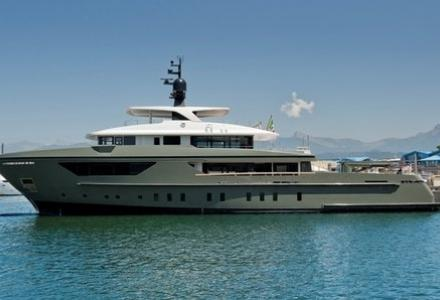 San Lorenzo launch explorer yacht