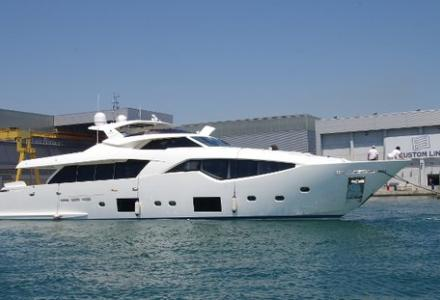 Ferretti 108 launched by Custom Line