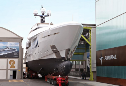 Admiral preparing to launch 50m C Force yacht
