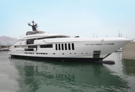 Admiral launch the first 50m C Force superyacht