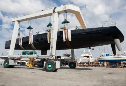 New Wally 110 sailing yacht Barong D launched