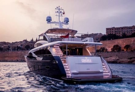 Princess Yachts 30m Kohuba delivered