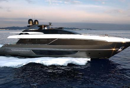 New Riva 100 Corsaro is in build