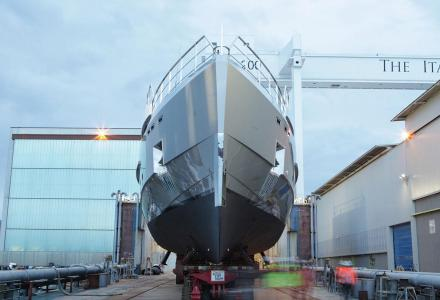 Admiral Yachts' 38m Tremenda makes a splash in Italy