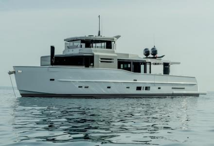 Arcadia 85 delivered to her owner