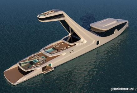 150m yacht concept Shaddai presented