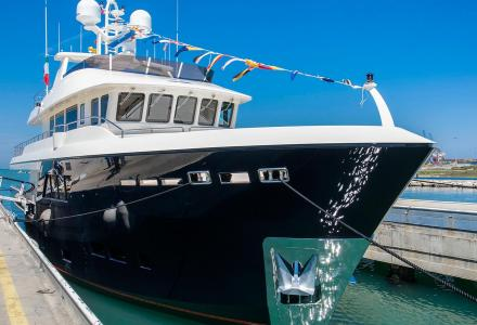 CdM launches 32m yacht Babbo