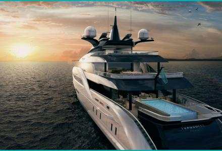 Turquoise Yachts reveal more details about the 66m project