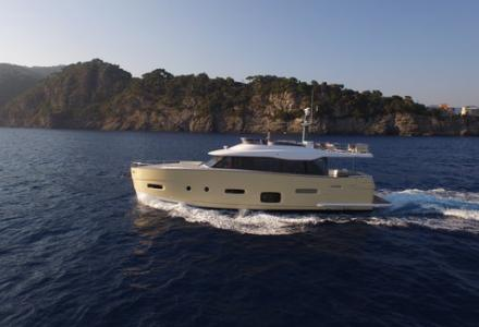 First Azimut Magellano 66 delivered this summer to her owner