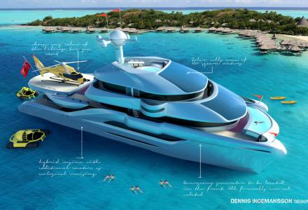 50m Follow the Sun superyacht concept