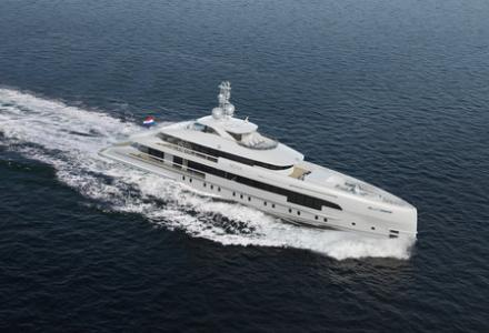 Heesen yachts reveal more details about the 50m project Nova