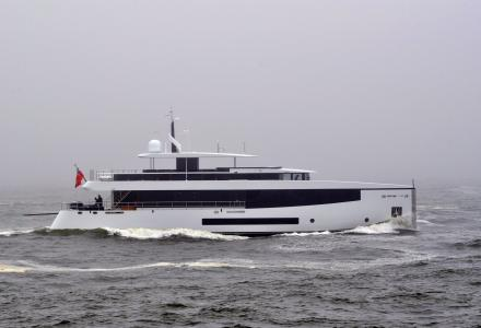 Feadship superyachts Kamino and Moon Sand Too in Holland