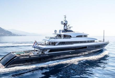 First yacht built by Icon Yachts for sale