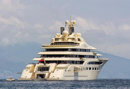 Dilbar officially becomes largest yacht by gross tonnage