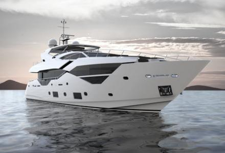 First CGI images of Sunseeker 116 model