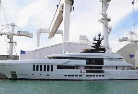 Admiral Yachts delivers 50m superyacht Ouranos