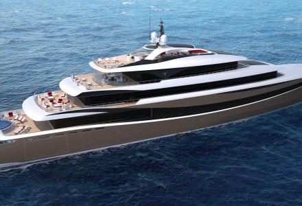 Fryne: Kabe Yachts' 97m project