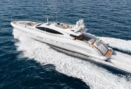 Mangusta 132 presented at the Monaco Show