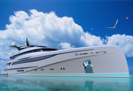 66m superyacht concept unveiled by Nuvolari Lenard