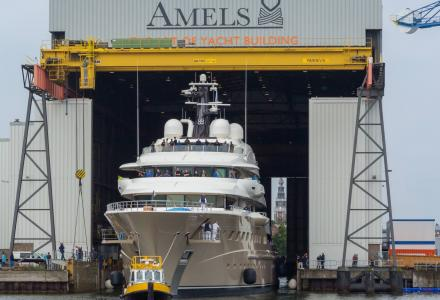 More information on the largest Amels superyacht revealed