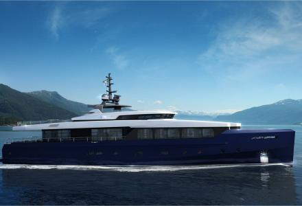 Admiral Yachts signs 40m Impero superyacht