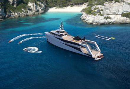 Pirious yachts introduce support vessel range