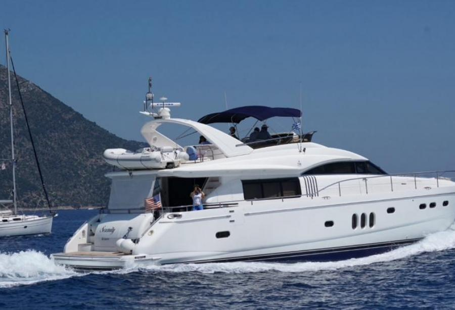 Motor yacht serenity princess yachts yacht harbour for Princess 75 motor yacht