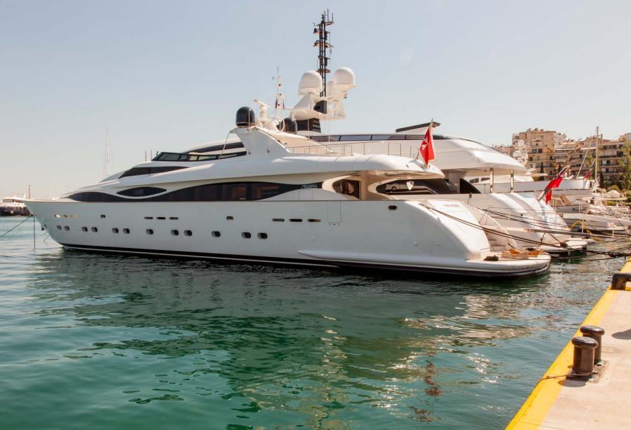 Motor yacht Phalarope - Maiora - Yacht Harbour