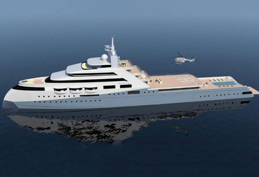 motor yacht icecap - lurssen