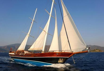 yacht Queen of Datca