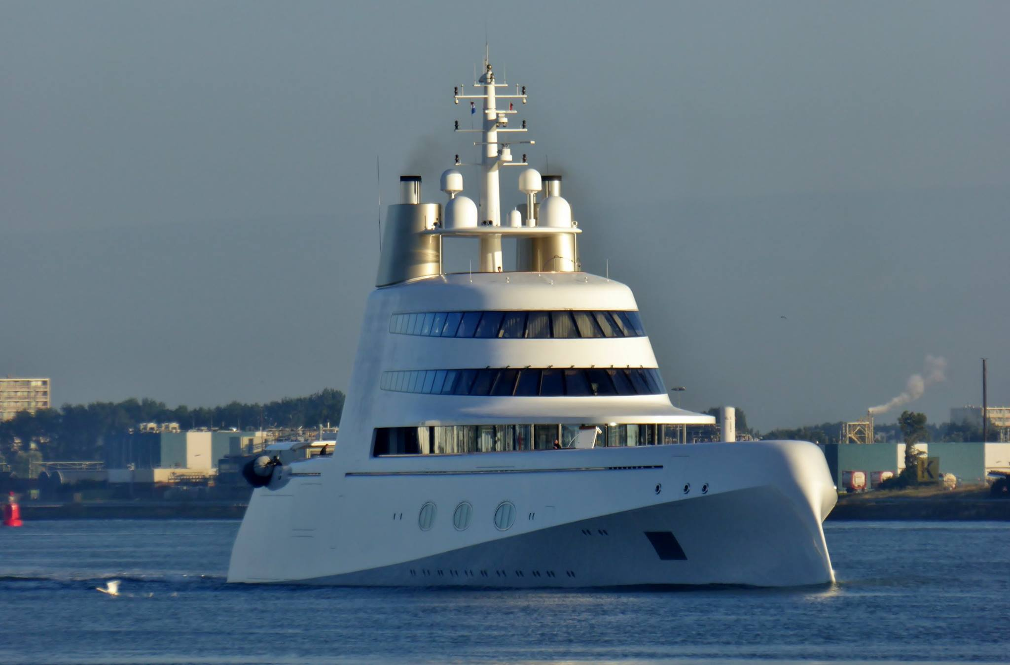 M Y A Pictured In Rotterdam The Netherlands Yacht Harbour