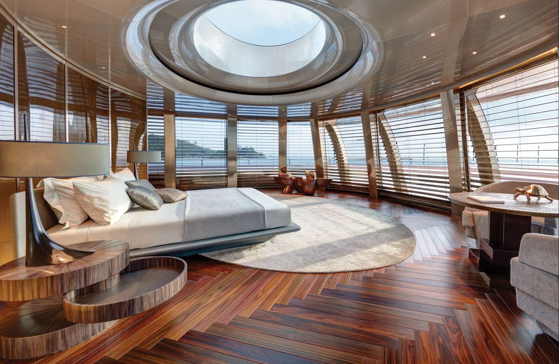 take a closer look at the motor yacht of the year yacht harbour. Black Bedroom Furniture Sets. Home Design Ideas