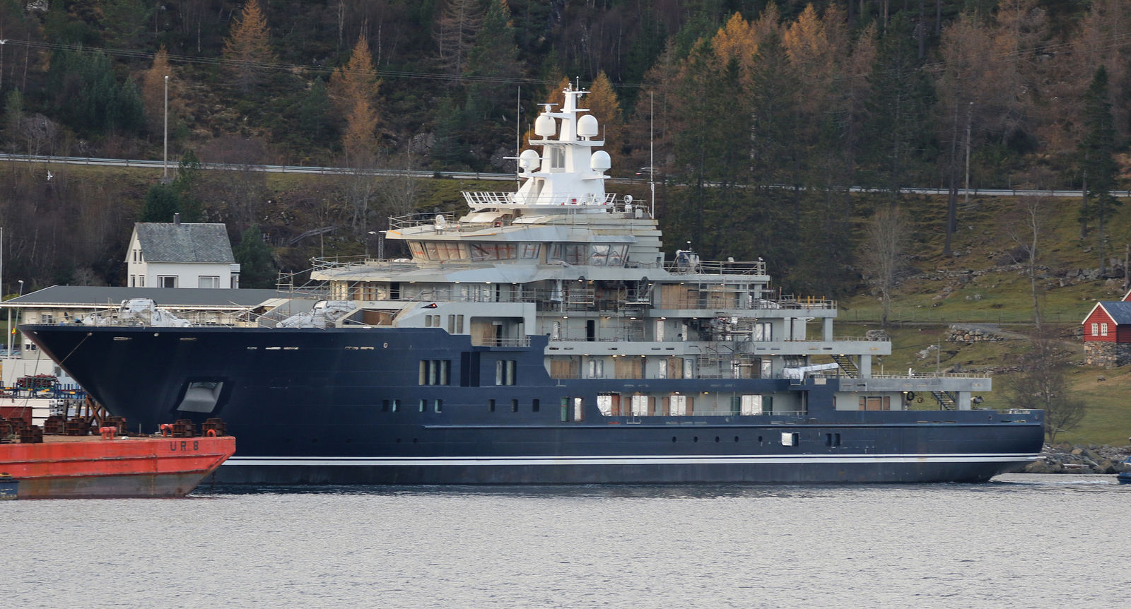 Kleven 116m on track for delivery - Yacht Harbour