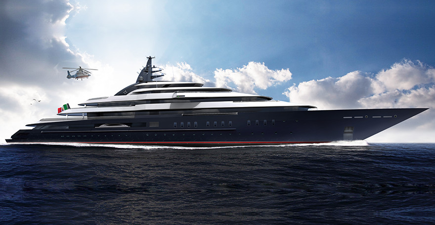 Megayachten 2018  At least six 100m+ megayachts under construction at Lurssen ...