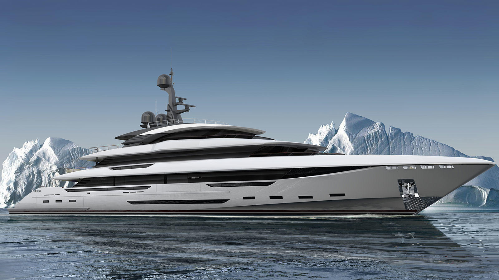 70m Rossinavi superyacht King Shark sold - Yacht Harbour