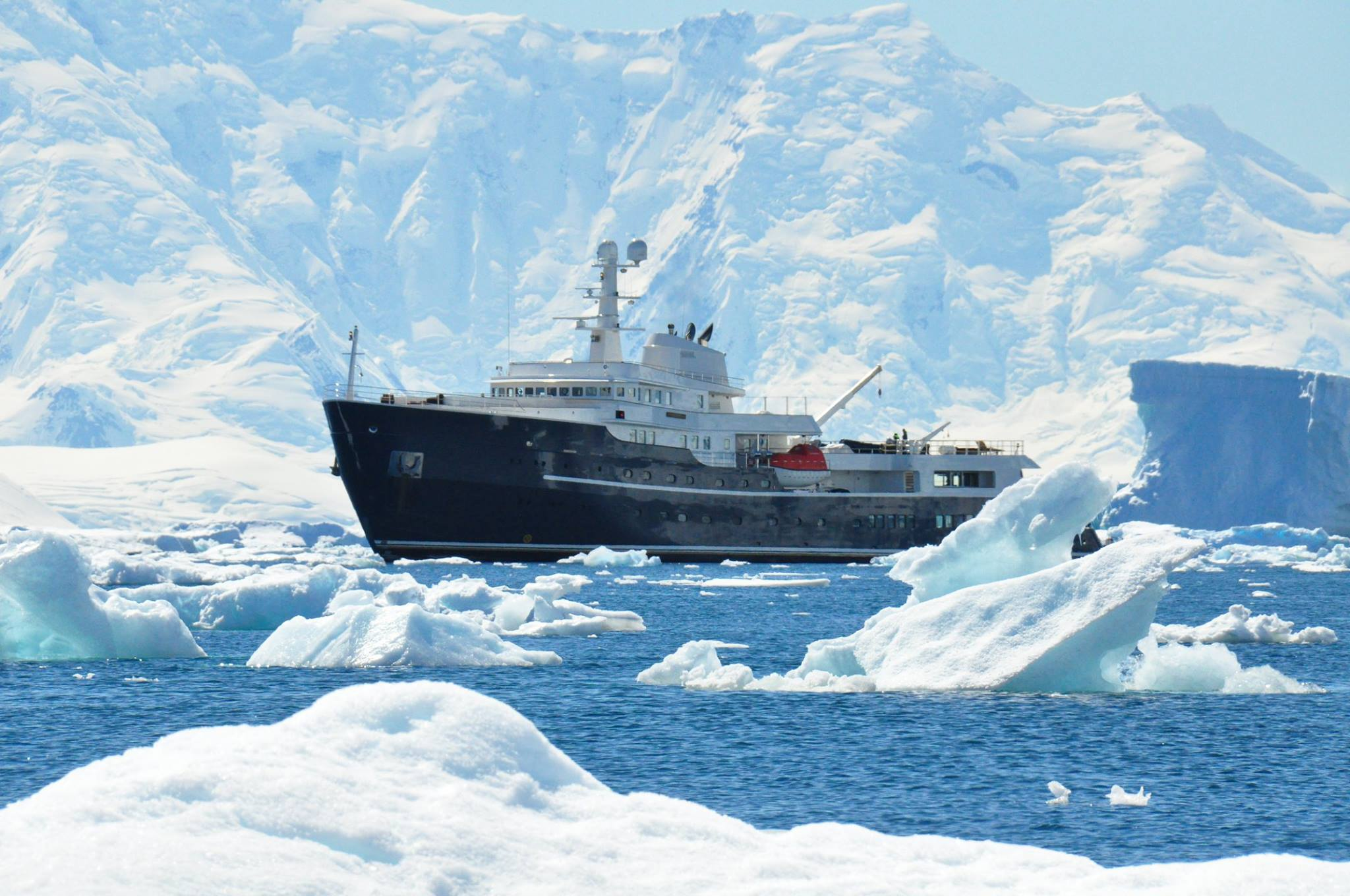 icon yachts icebreaking explorer legend spotted in