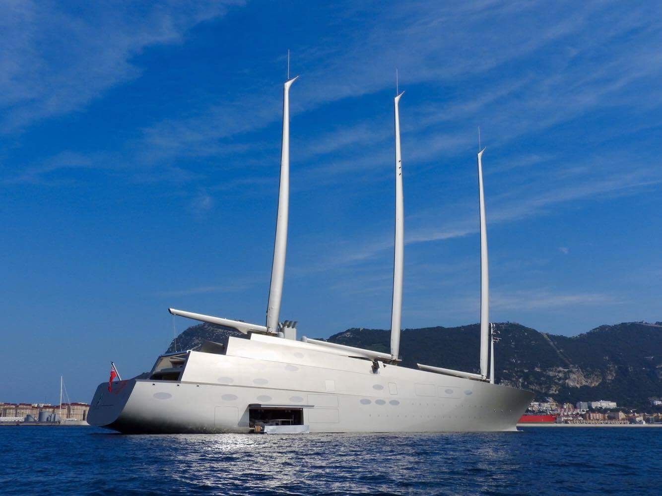 Sailing Yacht A Released By Gibraltar Courts Yacht Harbour