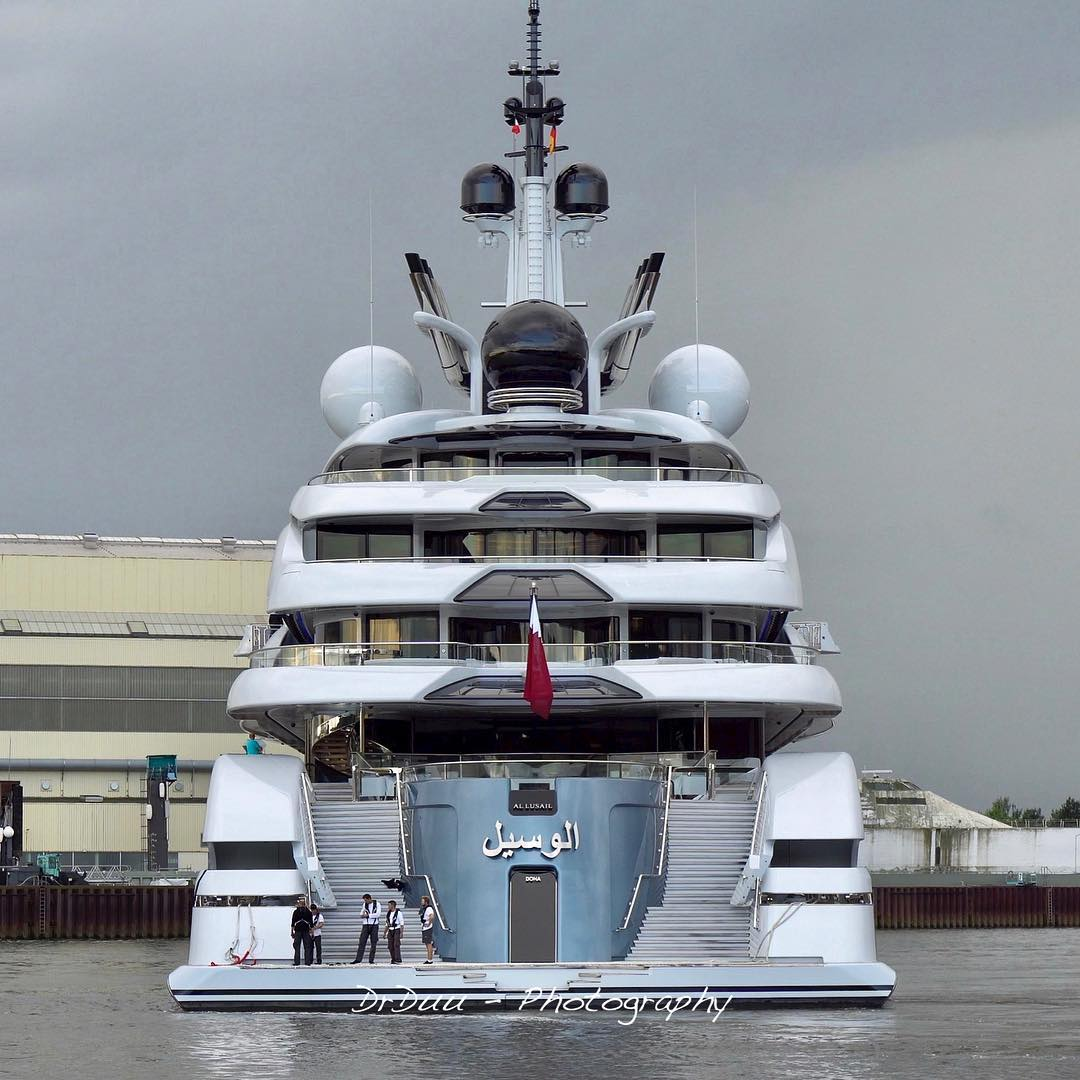 Lurssen Delivers Al Lusail Yacht Harbour