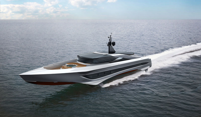 Russian Rocket Is A 37 Meter Foiling Superyacht Yacht Harbour