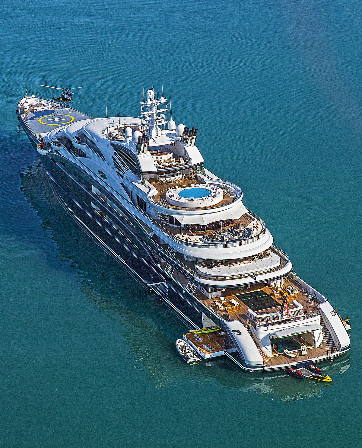 Inside the 134m bought by a Saudi Arabian prince - Yacht Harbour