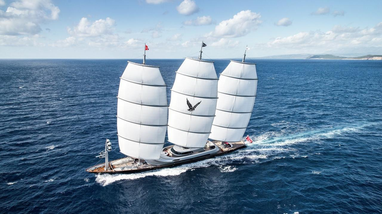 Inside the former largest sailing yacht in the world - Yacht