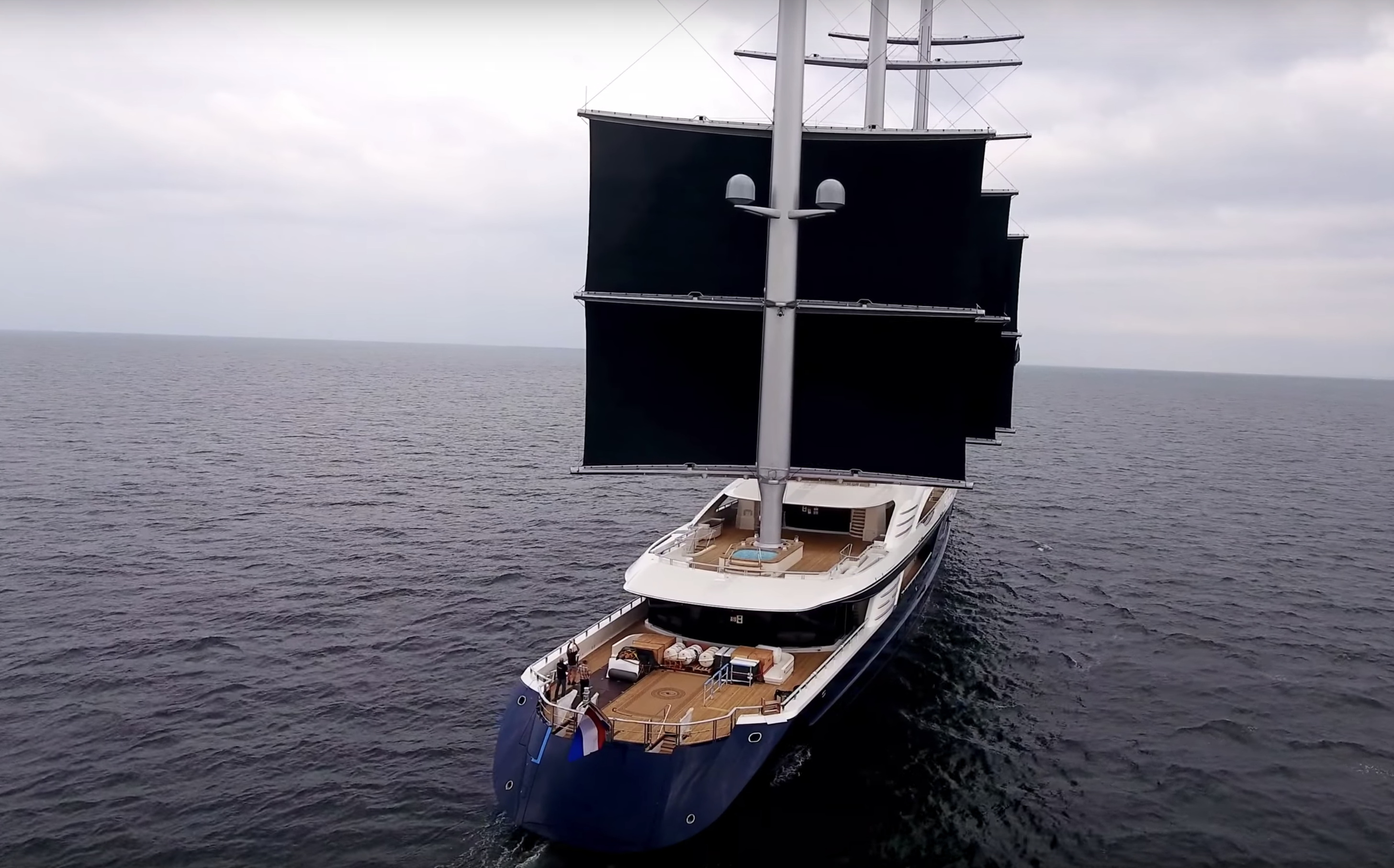 The full story behind the world's largest sailing yacht